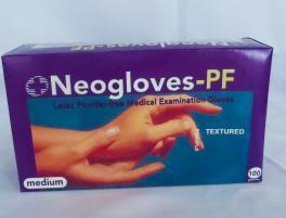 Gloves latex powder free M